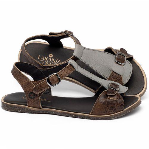 Laranja_Lima_Shoes_Sapatos_Femininos_Sandalia_Rasteira_Flat_em_Couro_Cinza_-_Codigo_-_137347_1