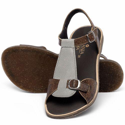 Laranja_Lima_Shoes_Sapatos_Femininos_Sandalia_Rasteira_Flat_em_Couro_Cinza_-_Codigo_-_137347_2
