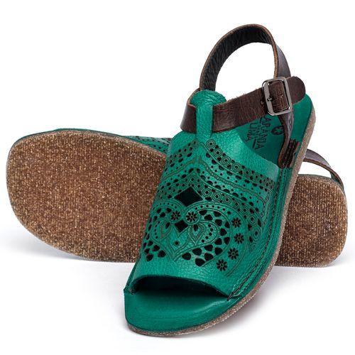 Laranja_Lima_Shoes_Sapatos_Femininos_Sandalia_Rasteira_Flat_em_Couro_Verde_-_Codigo_-_141022_2