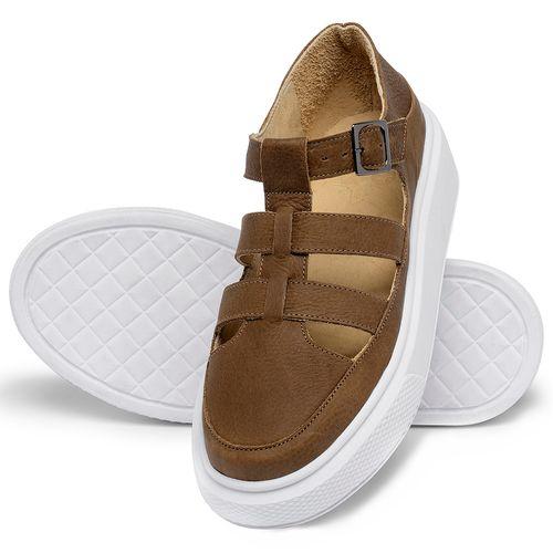 Laranja_Lima_Shoes_Sapatos_Femininos_Tenis_Cano_Baixo_em_Couro_Caramelo_-_Codigo_-_3756_2