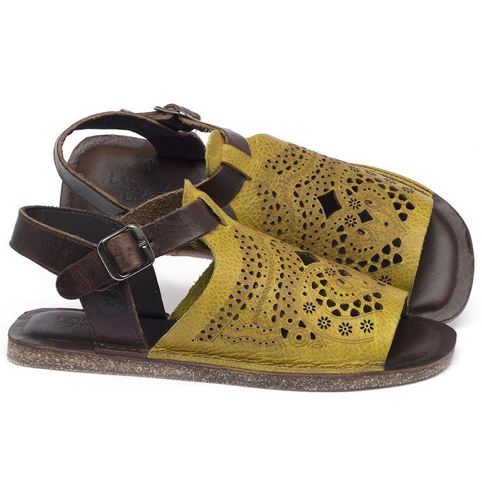 Laranja_Lima_Shoes_Sapatos_Femininos_Sandalia_Rasteira_Flat_em_Couro_Amarelo_-_Codigo_-_141022_1