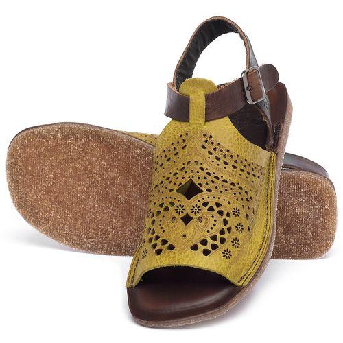 Laranja_Lima_Shoes_Sapatos_Femininos_Sandalia_Rasteira_Flat_em_Couro_Amarelo_-_Codigo_-_141022_2