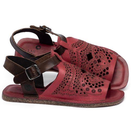 Laranja_Lima_Shoes_Sapatos_Femininos_Sandalia_Rasteira_Flat_em_Couro_Vermelho_-_Codigo_-_141022_1