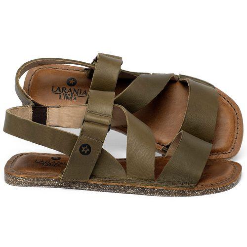 Laranja_Lima_Shoes_Sapatos_Femininos_Sandalia_Rasteira_Flat_em_Couro_Musgo_-_Codigo_-_141200_1