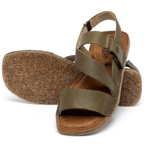 Laranja_Lima_Shoes_Sapatos_Femininos_Sandalia_Rasteira_Flat_em_Couro_Musgo_-_Codigo_-_141200_2