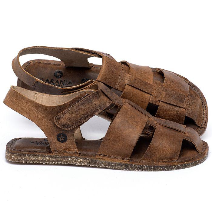 Laranja_Lima_Shoes_Sapatos_Femininos_Sandalia_Rasteira_Flat_em_Couro_Caramelo_-_Codigo_-_141202_1