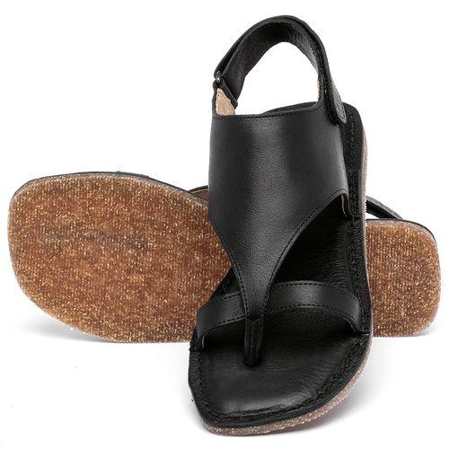 Laranja_Lima_Shoes_Sapatos_Femininos_Sandalia_Rasteira_Flat_em_Couro_Preto_-_Codigo_-_141211_2