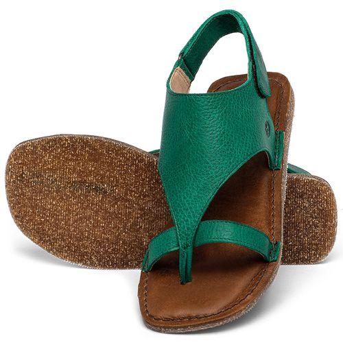 Laranja_Lima_Shoes_Sapatos_Femininos_Sandalia_Rasteira_Flat_em_Couro_Verde_-_Codigo_-_141211_2