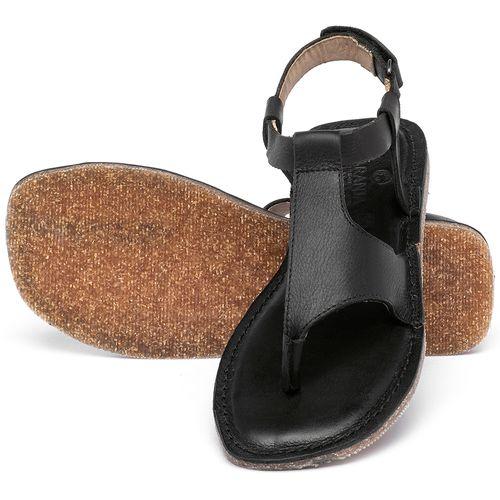 Laranja_Lima_Shoes_Sapatos_Femininos_Sandalia_Rasteira_Flat_em_Couro_Preto_-_Codigo_-_141212_2