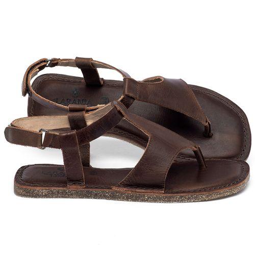 Laranja_Lima_Shoes_Sapatos_Femininos_Sandalia_Rasteira_Flat_em_Couro_Marrom_-_Codigo_-_141212_1
