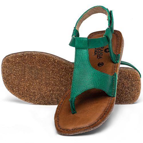 Laranja_Lima_Shoes_Sapatos_Femininos_Sandalia_Rasteira_Flat_em_Couro_Verde_-_Codigo_-_141212_2