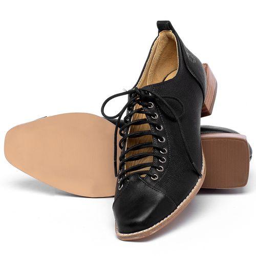 Laranja_Lima_Shoes_Sapatos_Femininos_Sapato_Laranja_Lima_Shoes_em_Couro_Preto_-_Codigo_-_9498_2
