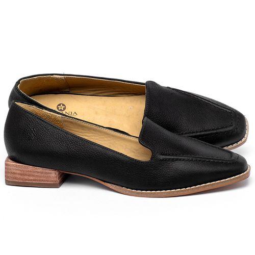 Laranja_Lima_Shoes_Sapatos_Femininos_Sapato_Laranja_Lima_Shoes_Salto_de_3_cm_em_Couro_Preto_-_Codigo_-_9484_1