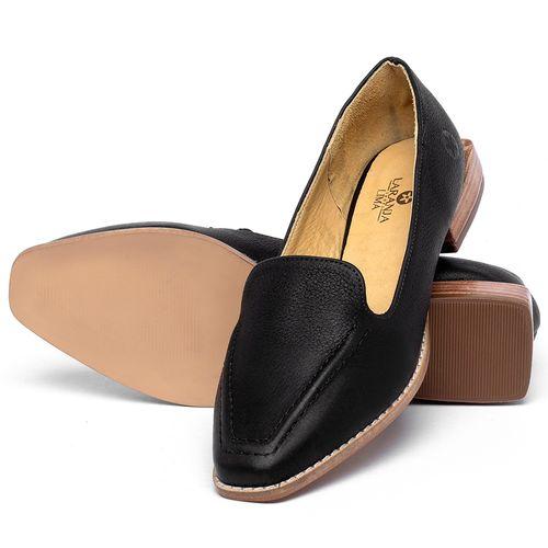 Laranja_Lima_Shoes_Sapatos_Femininos_Sapato_Laranja_Lima_Shoes_Salto_de_3_cm_em_Couro_Preto_-_Codigo_-_9484_2
