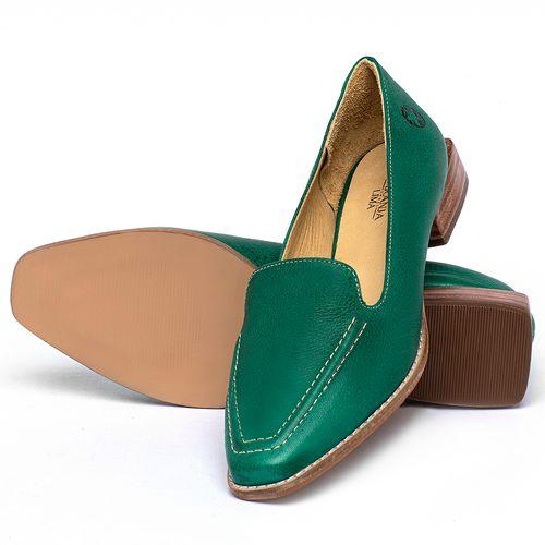 Laranja_Lima_Shoes_Sapatos_Femininos_Sapato_Laranja_Lima_Shoes_Salto_de_3_cm_em_Couro_Verde_-_Codigo_-_9484_2