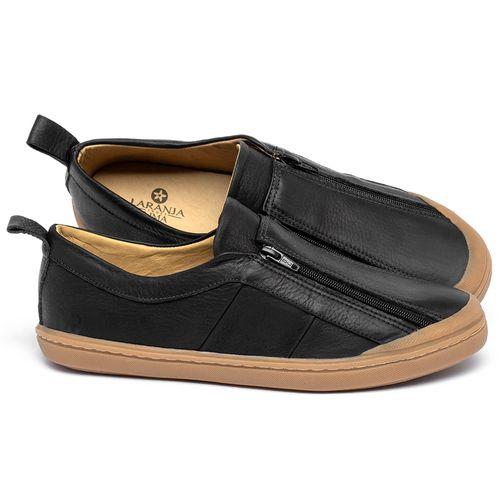 Laranja_Lima_Shoes_Sapatos_Femininos_Tenis_Cano_Baixo_em_Couro_Preto_-_Codigo_-_9509_1