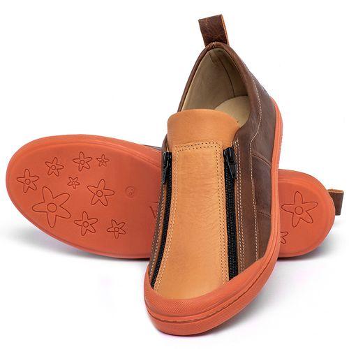 Laranja_Lima_Shoes_Sapatos_Femininos_Tenis_Cano_Baixo_em_Couro_Laranja_-_Codigo_-_9509_2