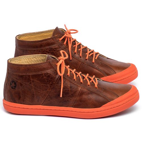Laranja_Lima_Shoes_Sapatos_Femininos_Tenis_Cano_Alto_em_Couro_Laranja_-_Codigo_-_9510_1