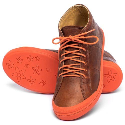 Laranja_Lima_Shoes_Sapatos_Femininos_Tenis_Cano_Alto_em_Couro_Laranja_-_Codigo_-_9510_2