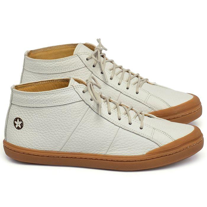 Laranja_Lima_Shoes_Sapatos_Femininos_Tenis_Cano_Alto_em_Couro_Off-White_-_Codigo_-_9510_1