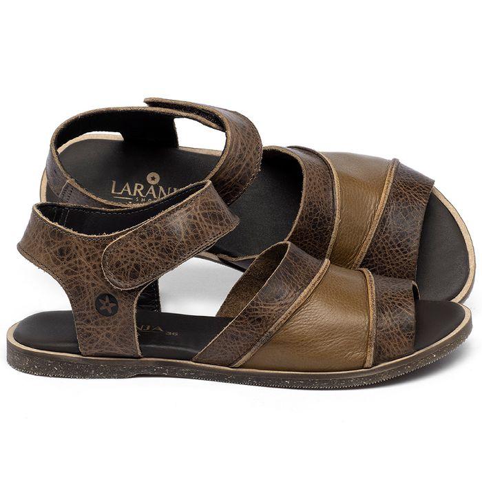 Laranja_Lima_Shoes_Sapatos_Femininos_Sandalia_Rasteira_Flat_em_Couro_Marrom_-_Codigo_-_137330_1