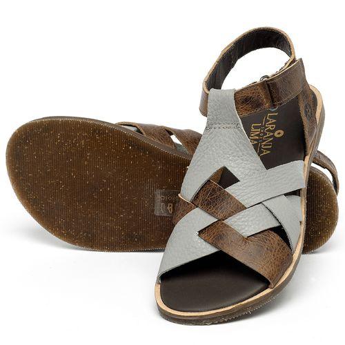 Laranja_Lima_Shoes_Sapatos_Femininos_Sandalia_Rasteira_Flat_em_Couro_Multicolor_-_Codigo_-_137336_2
