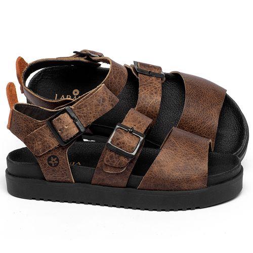 Laranja_Lima_Shoes_Sapatos_Femininos_Sandalia_Rasteira_Flat_em_Couro_Marrom_-_Codigo_-_137355_1