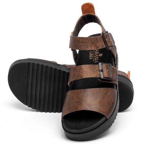 Laranja_Lima_Shoes_Sapatos_Femininos_Sandalia_Rasteira_Flat_em_Couro_Marrom_-_Codigo_-_137355_2