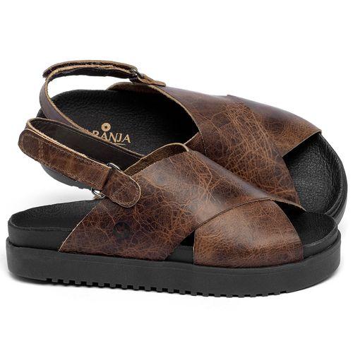Laranja_Lima_Shoes_Sapatos_Femininos_Sandalia_Rasteira_Flat_em_Couro_Marrom_-_Codigo_-_137359_1