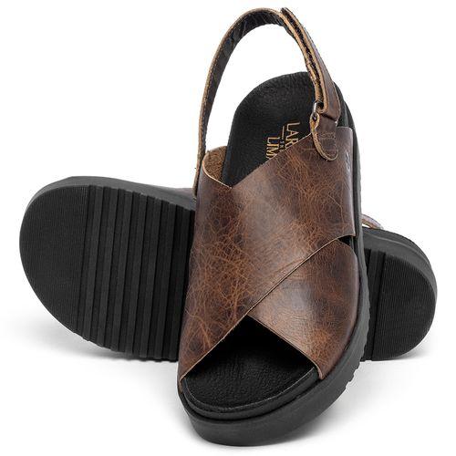 Laranja_Lima_Shoes_Sapatos_Femininos_Sandalia_Rasteira_Flat_em_Couro_Marrom_-_Codigo_-_137359_2