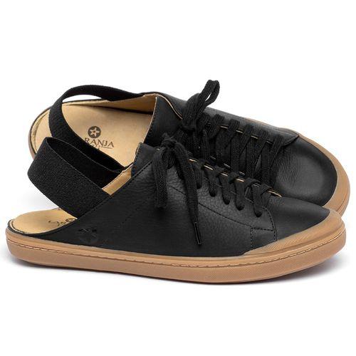 Laranja_Lima_Shoes_Sapatos_Femininos_Tenis_Cano_Baixo_em_Couro_Preto_-_Codigo_-_9507_1