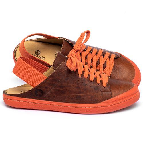 Laranja_Lima_Shoes_Sapatos_Femininos_Tenis_Cano_Baixo_em_Couro_Laranja_-_Codigo_-_9507_1