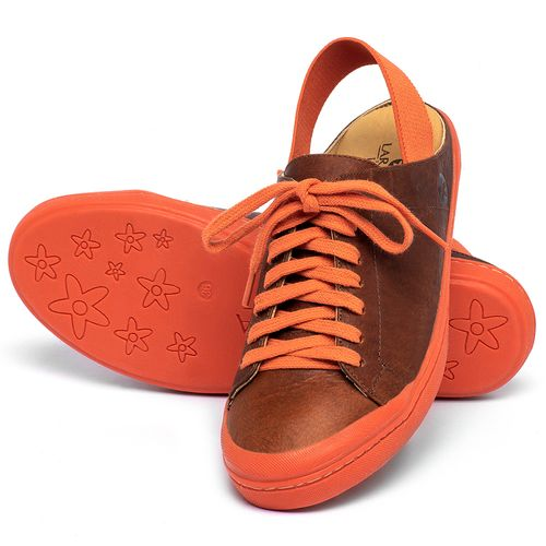 Laranja_Lima_Shoes_Sapatos_Femininos_Tenis_Cano_Baixo_em_Couro_Laranja_-_Codigo_-_9507_2