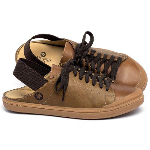 Laranja_Lima_Shoes_Sapatos_Femininos_Tenis_Cano_Baixo_em_Couro_Caramelo_-_Codigo_-_9507_1