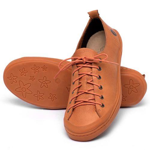 Laranja_Lima_Shoes_Sapatos_Femininos_Tenis_Cano_Baixo_em_Couro_Laranja_-_Codigo_-_141112_2