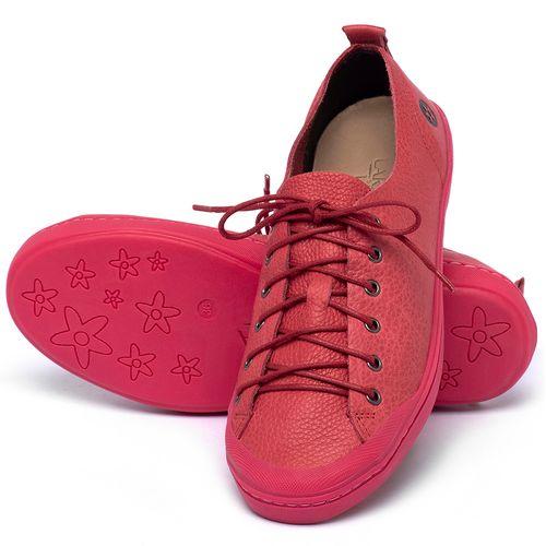 Laranja_Lima_Shoes_Sapatos_Femininos_Tenis_Cano_Baixo_em_Couro_Rosa_-_Codigo_-_141112_2