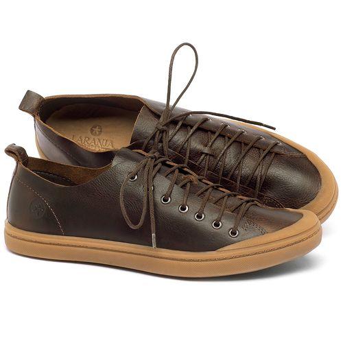 Laranja_Lima_Shoes_Sapatos_Femininos_Tenis_Cano_Baixo_em_Couro_Marrom_-_Codigo_-_141112_1