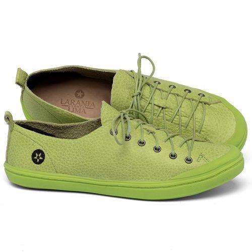 Laranja_Lima_Shoes_Sapatos_Femininos_Tenis_Cano_Baixo_em_Couro_Verde_-_Codigo_-_141112_1