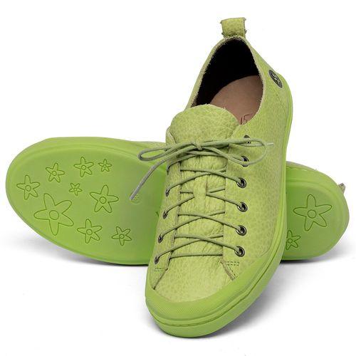 Laranja_Lima_Shoes_Sapatos_Femininos_Tenis_Cano_Baixo_em_Couro_Verde_-_Codigo_-_141112_2