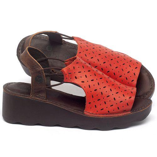 Laranja_Lima_Shoes_Sapatos_Femininos_Anabela_Tratorada_Salto_de_5_cm_em_Couro_Vermelho_-_Codigo_-_141038_1