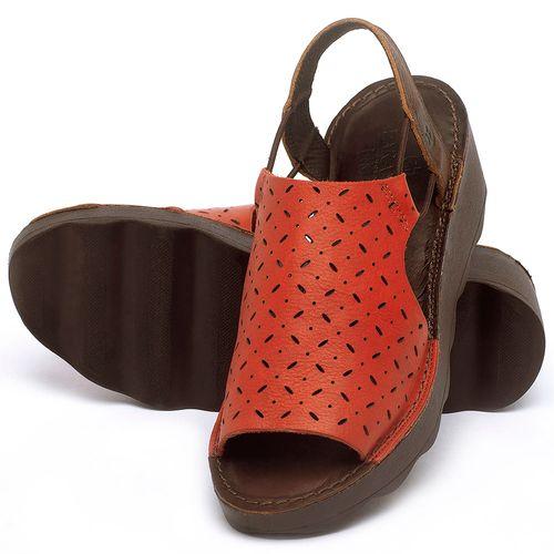 Laranja_Lima_Shoes_Sapatos_Femininos_Anabela_Tratorada_Salto_de_5_cm_em_Couro_Vermelho_-_Codigo_-_141038_2