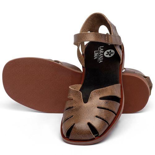 Laranja_Lima_Shoes_Sapatos_Femininos_Sandalia_Rasteira_Flat_em_Couro_Marrom_-_Codigo_-_136105_2