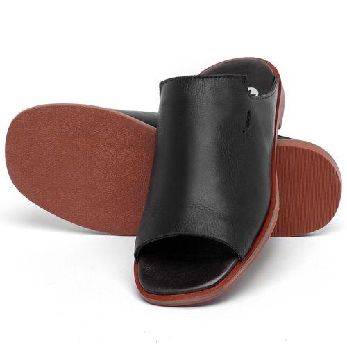 Laranja_Lima_Shoes_Sapatos_Femininos_Sandalia_Rasteira_Flat_em_Couro_Preto_-_Codigo_-_136115_2