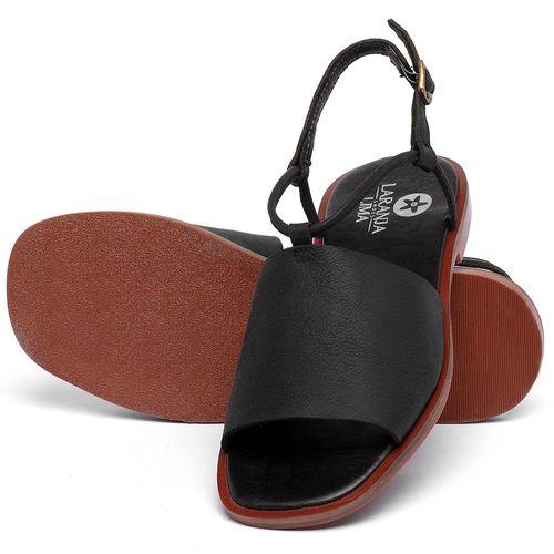 Laranja_Lima_Shoes_Sapatos_Femininos_Sandalia_Rasteira_Flat_em_Couro_Preto_-_Codigo_-_136108_2