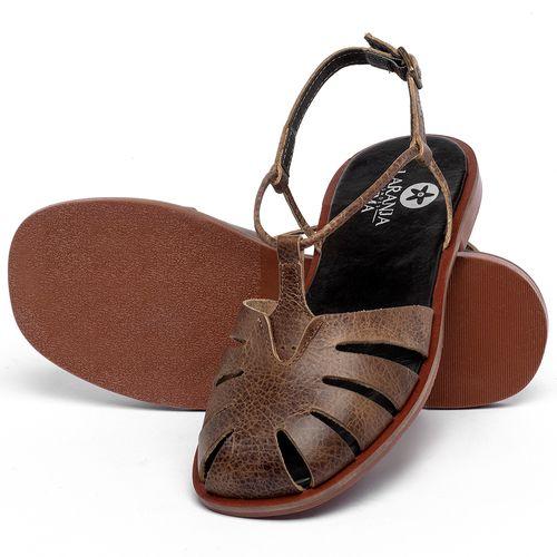 Laranja_Lima_Shoes_Sapatos_Femininos_Sandalia_Rasteira_Flat_em_Couro_Marrom_-_Codigo_-_136118_2