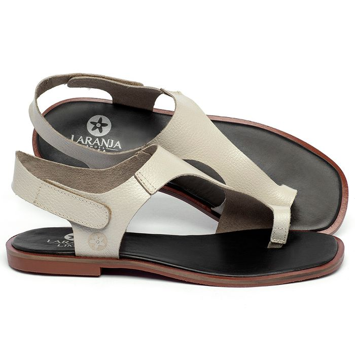 Laranja_Lima_Shoes_Sapatos_Femininos_Sandalia_Rasteira_Flat_em_Couro_Off-White_-_Codigo_-_136109_1