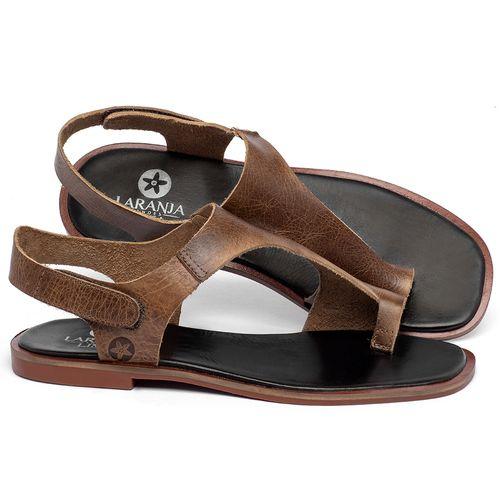 Laranja_Lima_Shoes_Sapatos_Femininos_Sandalia_Rasteira_Flat_em_Couro_Marrom_-_Codigo_-_136109_1