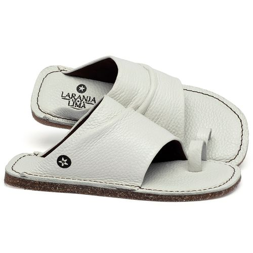 Laranja_Lima_Shoes_Sapatos_Femininos_Sandalia_Rasteira_Flat_em_Couro_Off-White_-_Codigo_-_141204_1