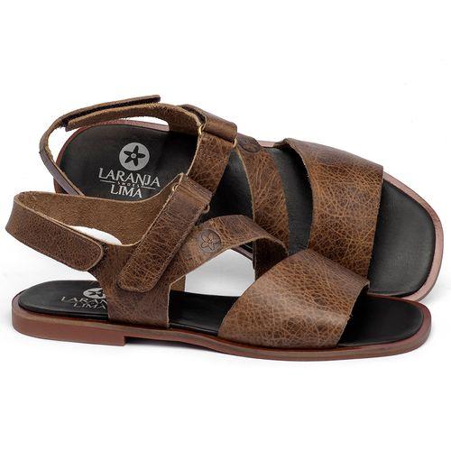 Laranja_Lima_Shoes_Sapatos_Femininos_Sandalia_Rasteira_Flat_em_Couro_Marrom_-_Codigo_-_136111_1