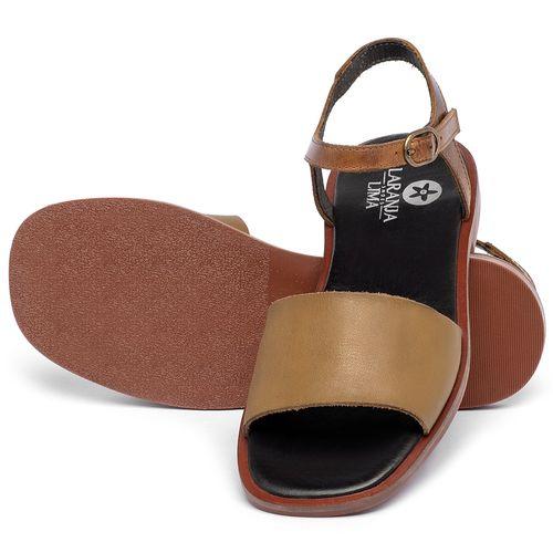 Laranja_Lima_Shoes_Sapatos_Femininos_Sandalia_Rasteira_Flat_em_Couro_Caramelo_-_Codigo_-_136112_2